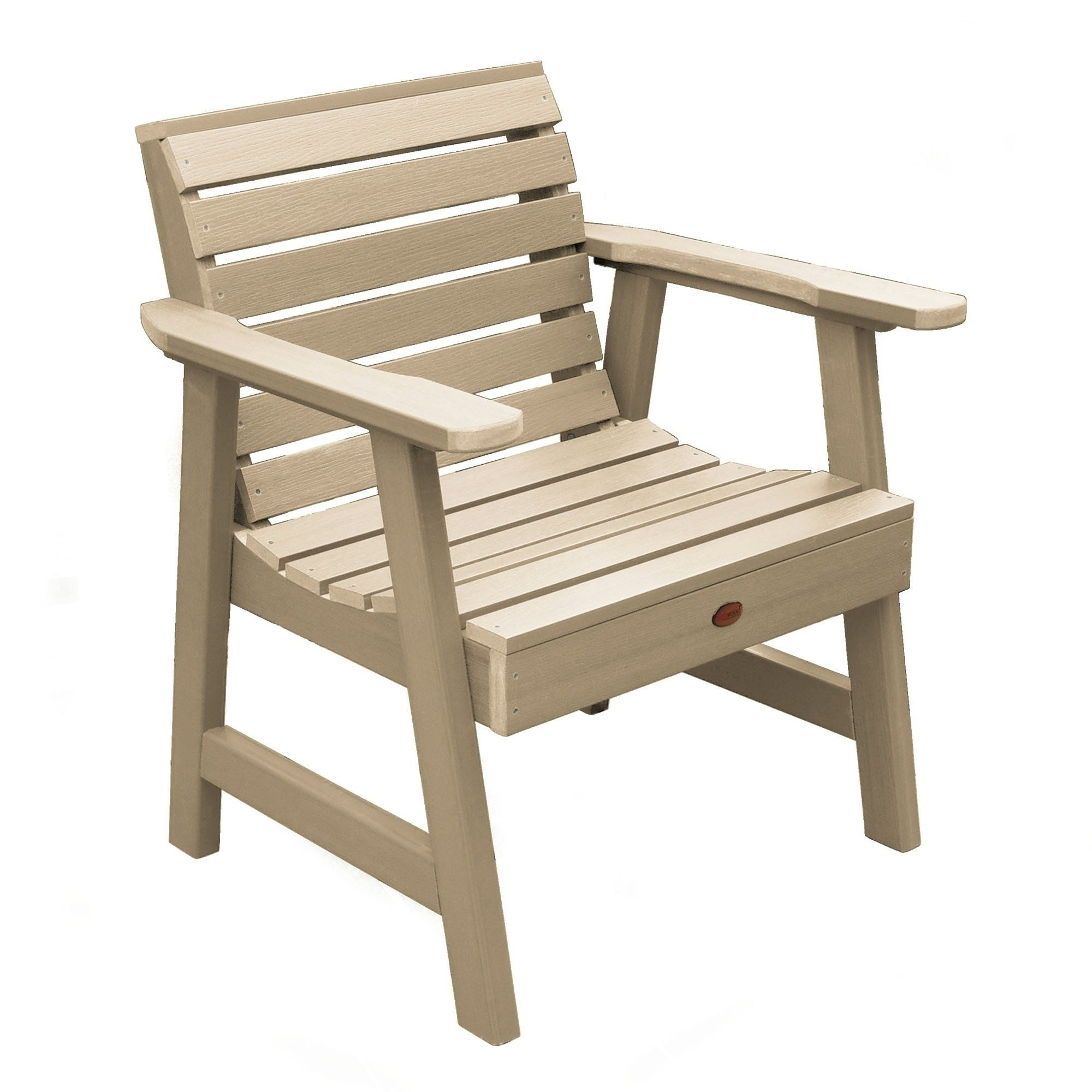 Havenside Home Mandalay Eco Friendly Marine Grade Synthetic Wood Garden Chair Tuscan Taupe Brown P Lounge Chair Outdoor Garden Lounge Chairs Garden Chairs