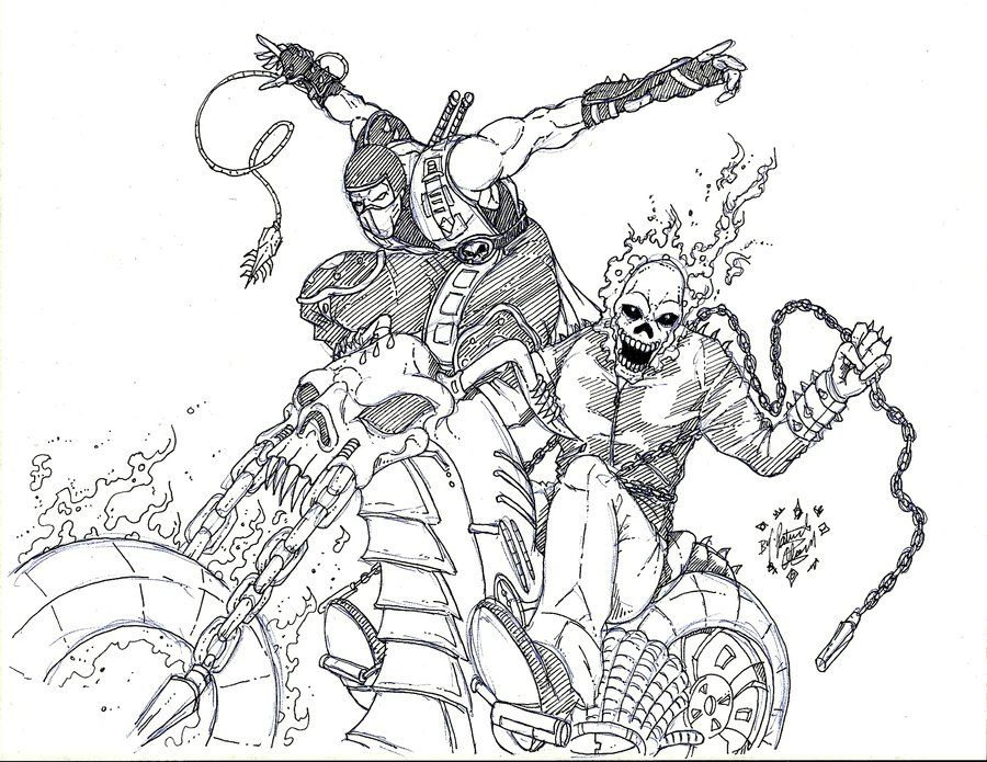Ghost Rider Coloring Pages Skull Coloring Pages Toy Story Coloring Pages Coloring Pages