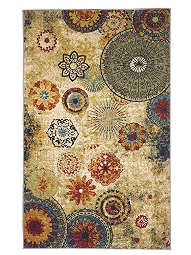 New Medallion Multi colored Area Rug 5x8,carpet,Soft Rug,Living Room,dining room, foyer, http://www.amazon.com/dp/B00UGBXFUU/ref=cm_sw_r_pi_awdm_wOP4vb0SQKDM1