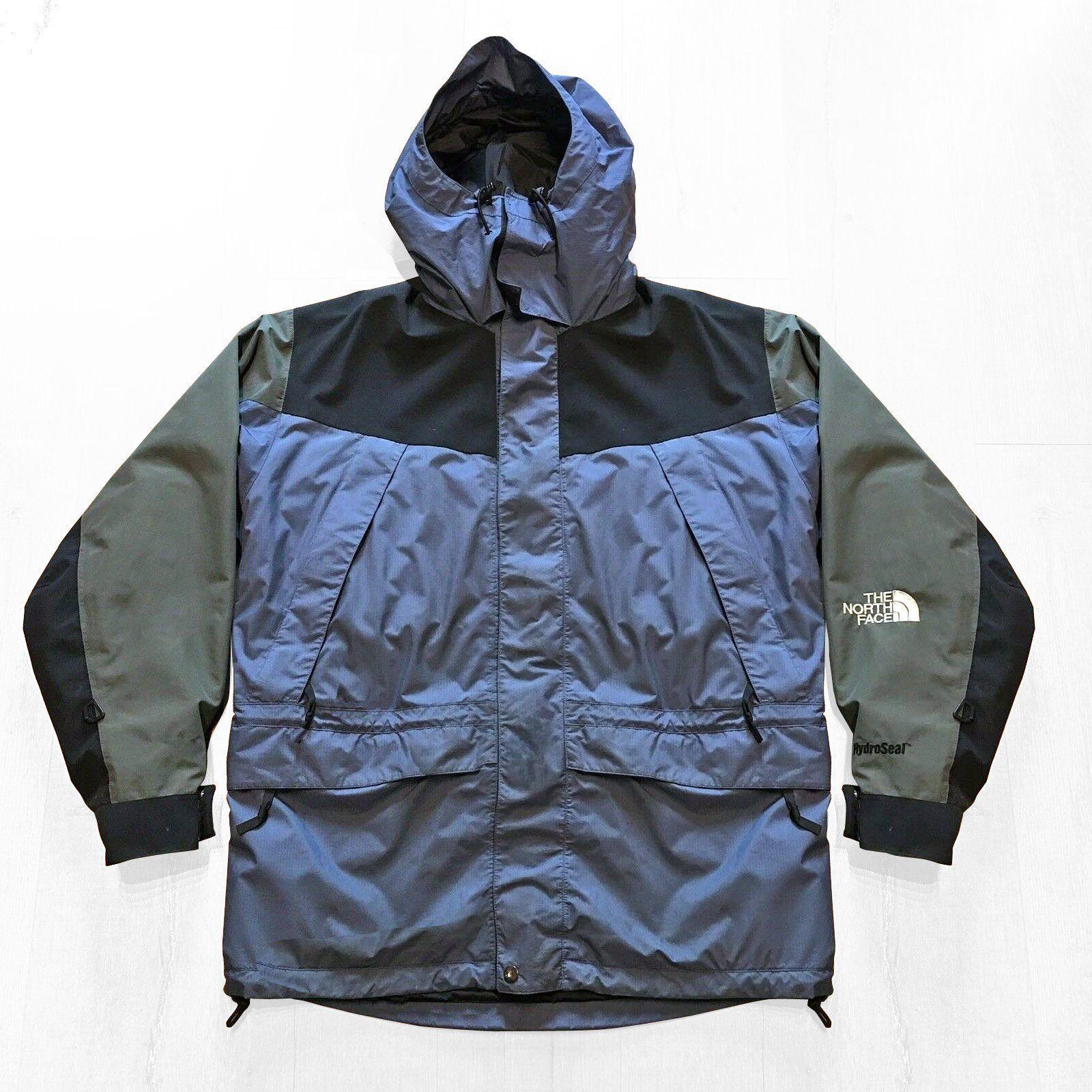 Vintage North Face Goretex Mountain Parka Jacket Size Xl Dark Blue And Beige Parka Jacket The North Face Parka [ 1600 x 1600 Pixel ]