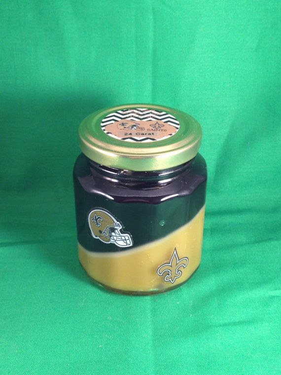 Saints candle by RIAsCandles on Etsy
