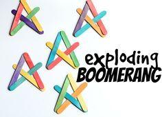 exploding boomerang
