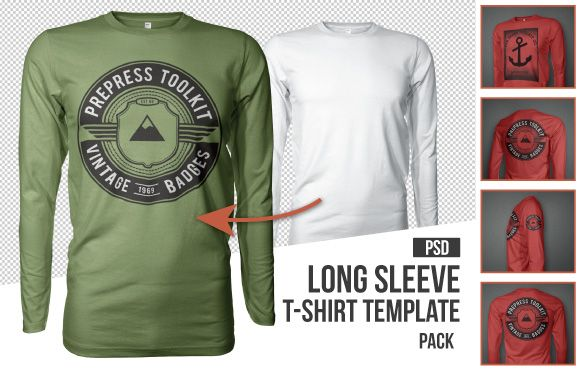 Download 10 Must Have Mockup Templates For T Shirt And Apparel Design The Men S Collection Prepress Toolkit Clothing Mockup Long Sleeve Tshirt Men Shirt Mockup