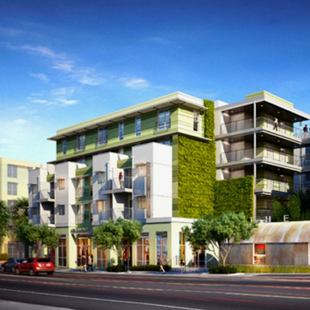 Luxe Broadway A New Building In Santa Monica That Had To