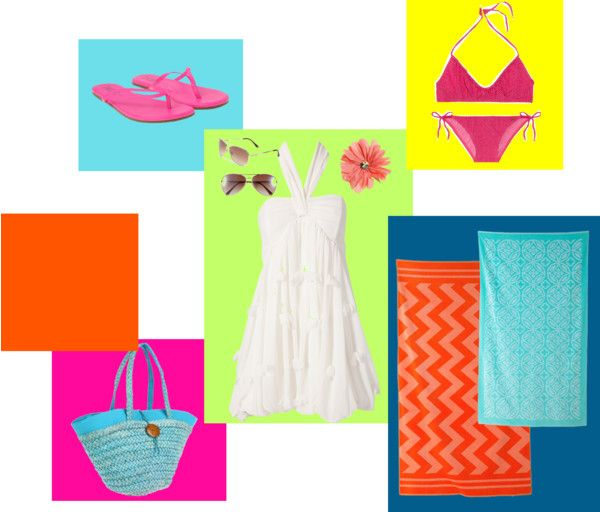 """""""Beach time"""" by starkidlover ❤ liked on Polyvore"""