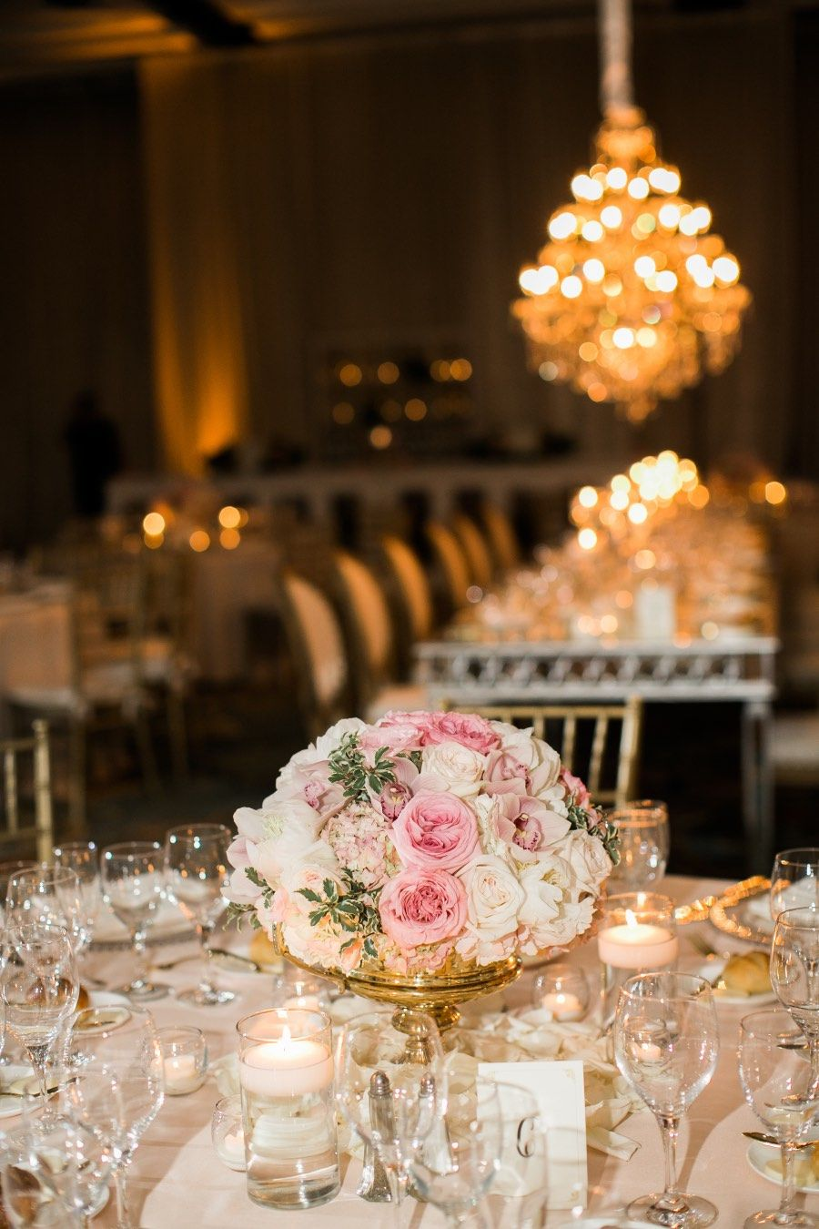 Wedding decorations luxury  Luxury Florida Beach Wedding with Glamorous Gold Details  wedding
