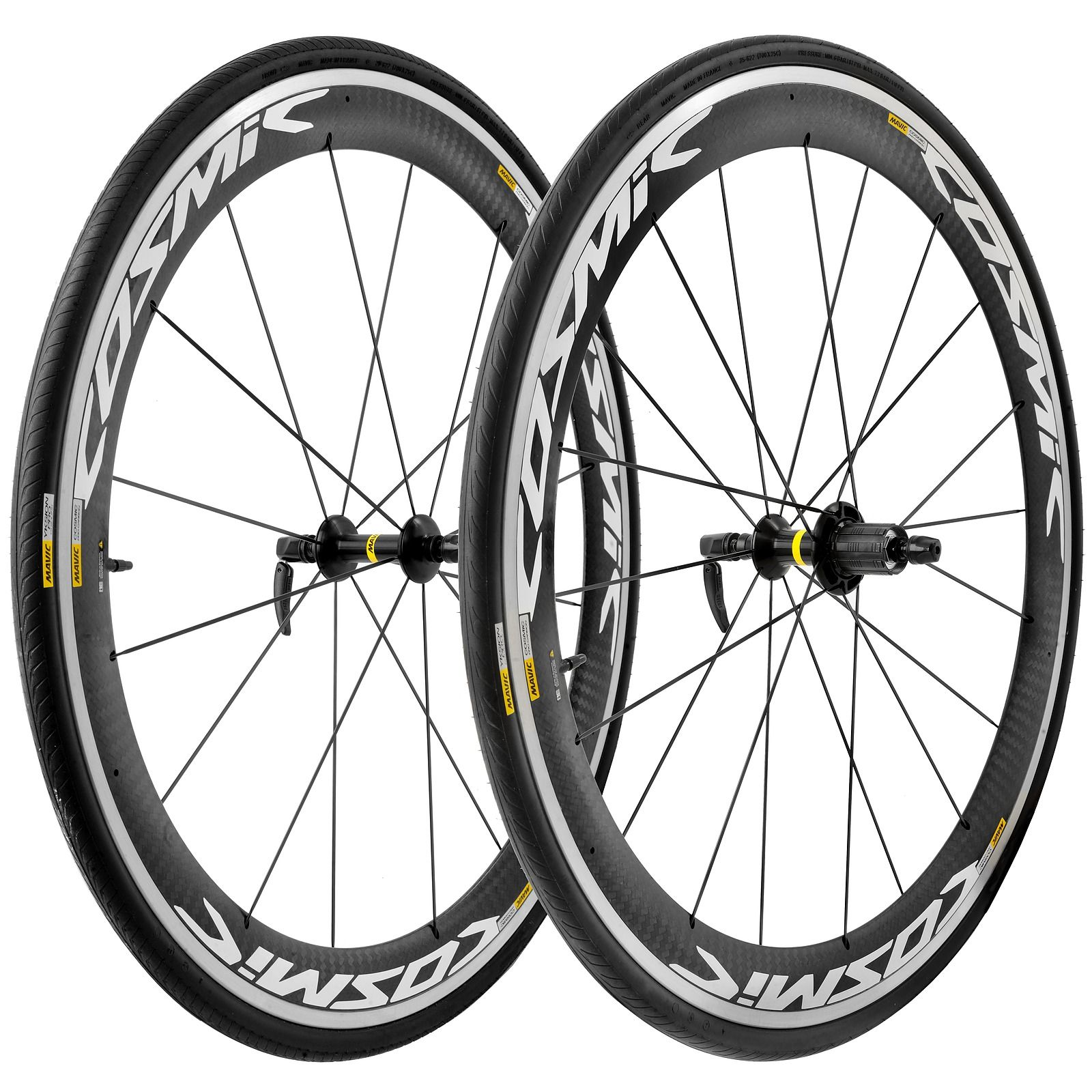 Mavic Cosmic Pro Carbon w/Yksion Tires Wheelset The