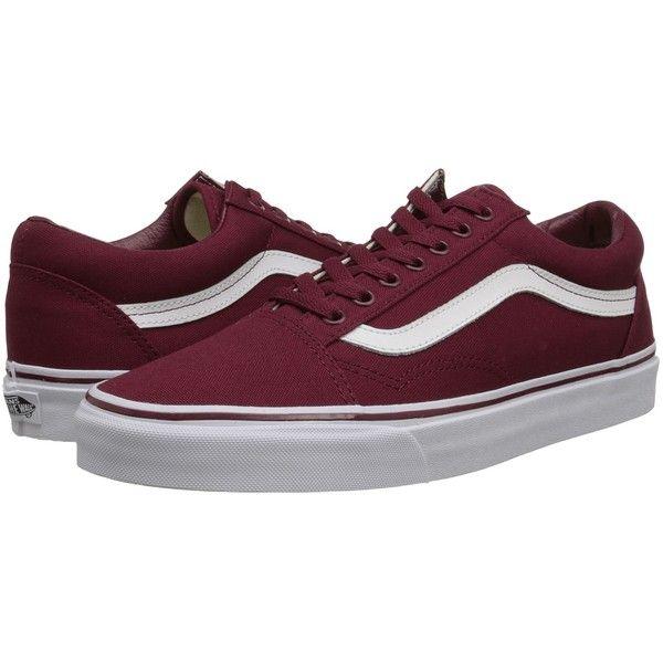 522ff38d4380d8 Vans Old Skool ((Canvas) Cordovan True White) Skate Shoes (2