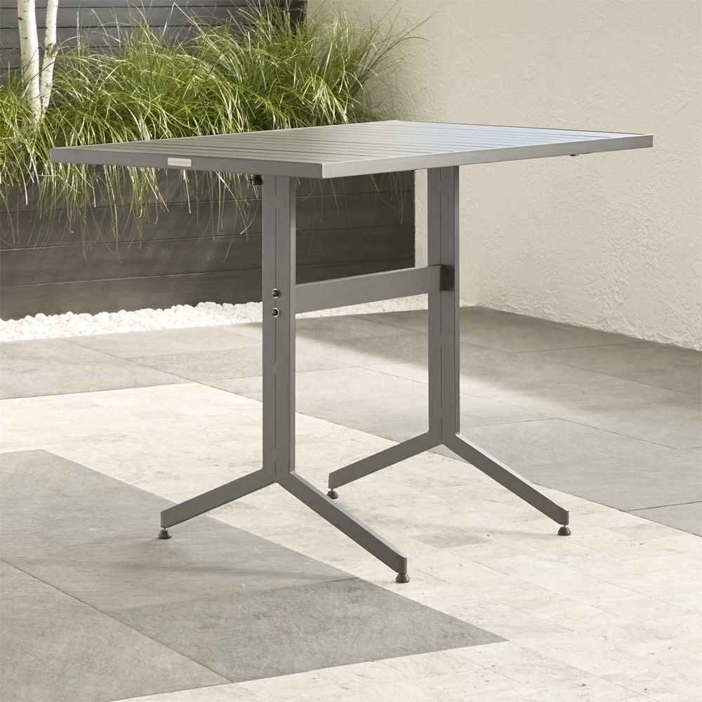 Largo fliptop high dining table crate and barrel dining tables