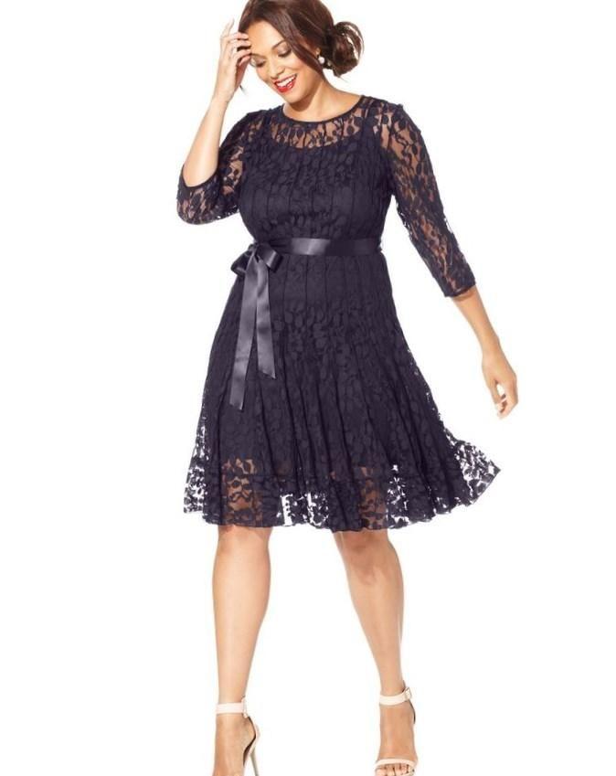 Macy dresses plus size - http://pluslook.eu/dresses/macy-dresses ...