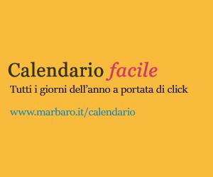 Marbaro Calendario 2020.Calendario 2020 Annuale Con I Giorni Festivi Italiani E Le