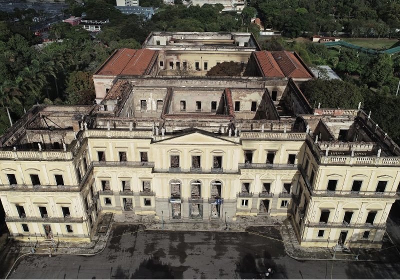A Faulty Air Conditioning Unit Sparked The Brazil National Museum Fire National Museum The Unit Portuguese Royal Family