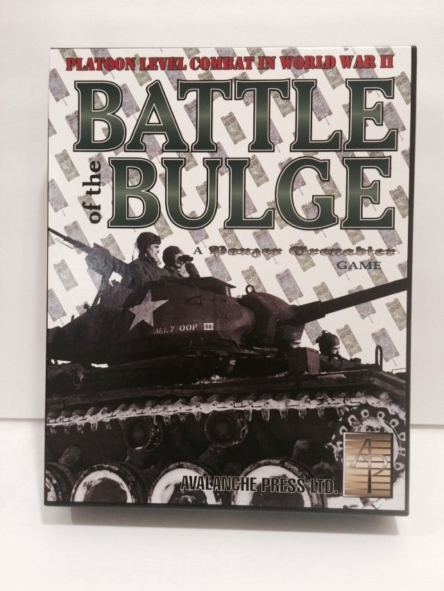 Panzer Grenadier: Battle of the Bulge #AvalanchePressLTD