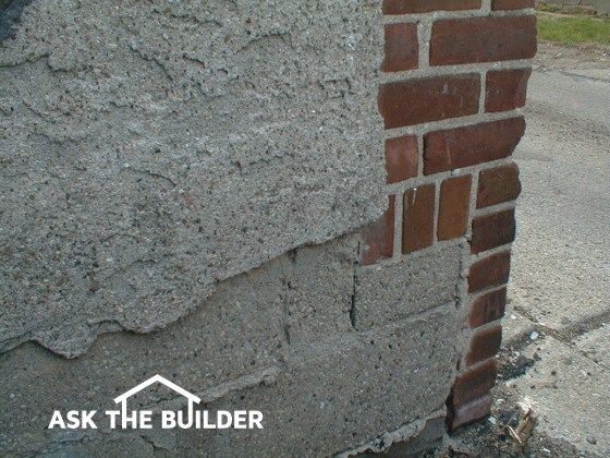 Cement Stucco Foundation Finish Cinder Block Foundation Stucco Concrete Retaining Walls