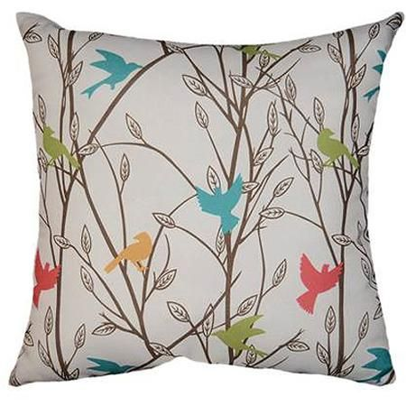 Mainstays Bird Song Decorative Pillow , Walmart.com $10