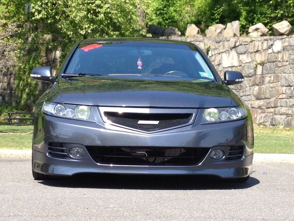 Acura Tsx Euro R Front Lip ASpec Side Skirts And Rear Lip - Acura tsx euro r