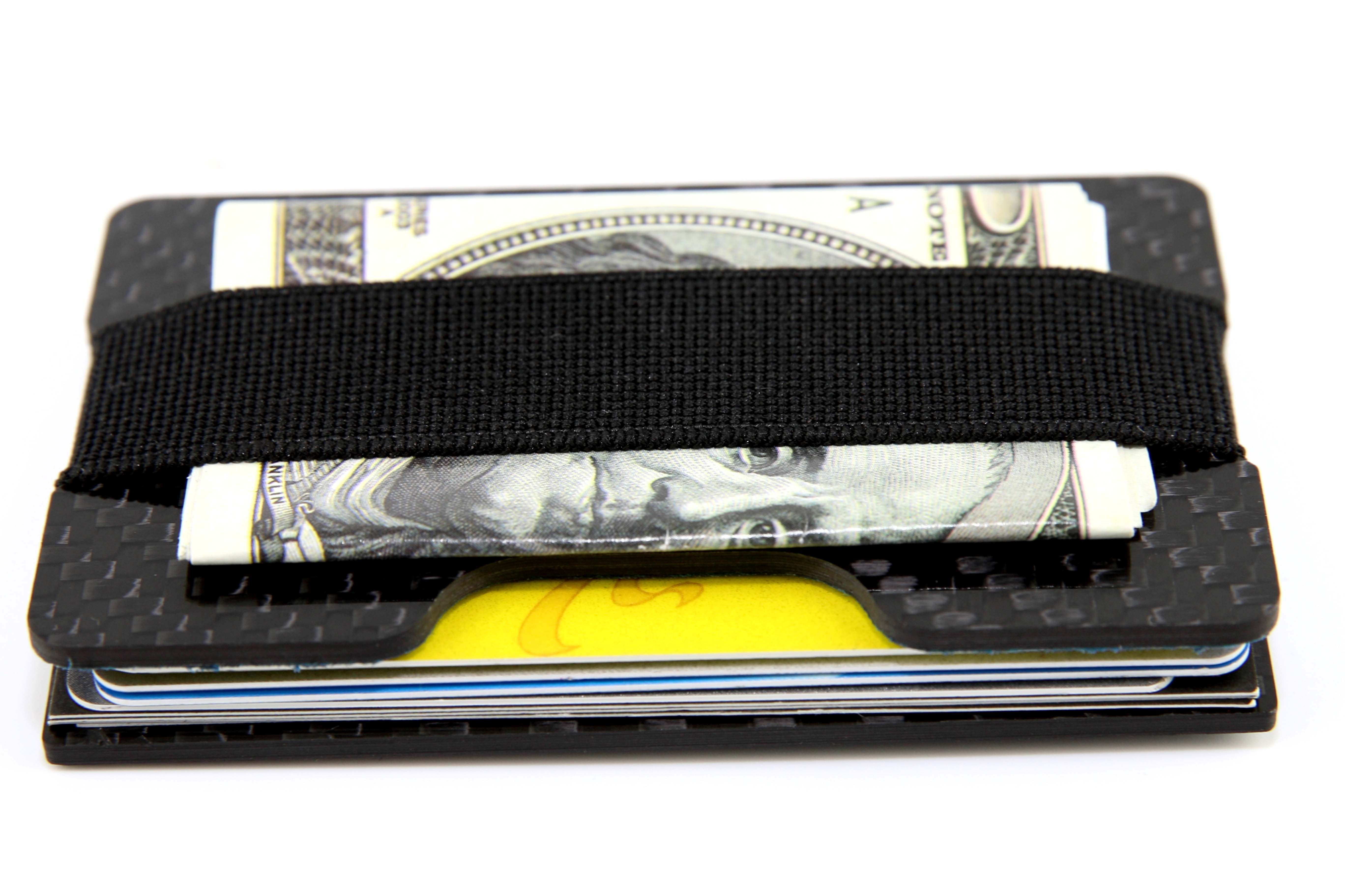 Carbon Fiber Card Holder Slim Wallet Real Carbon Fiber Made From
