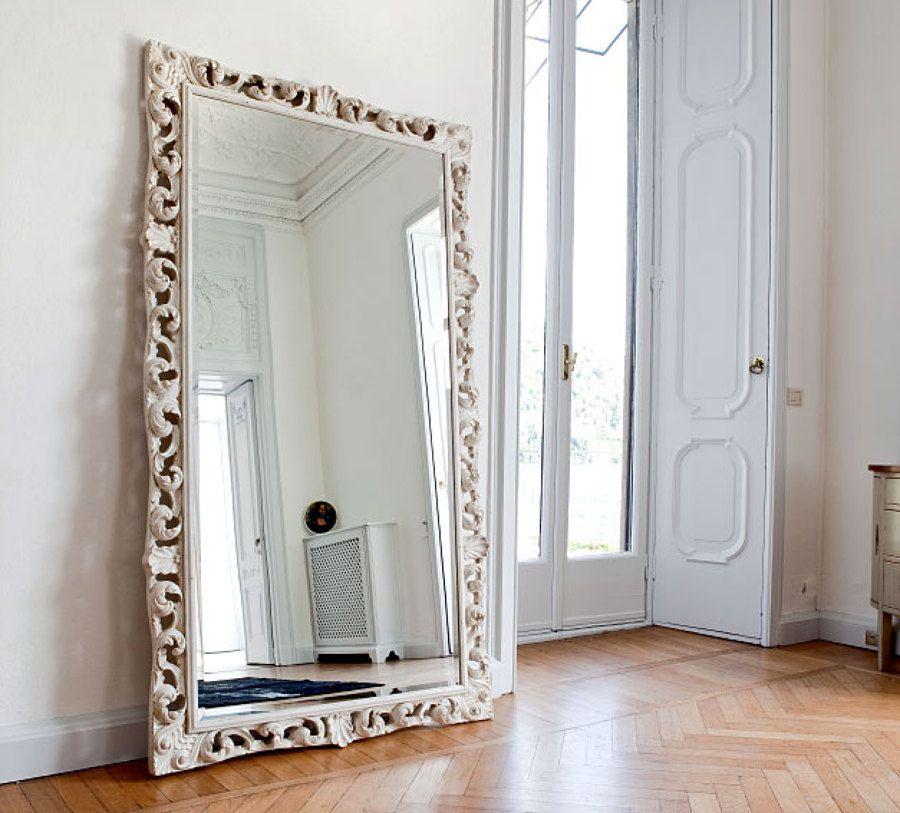 Gran espejo barroco espejos espelhos pinterest for Espejos grandes baratos
