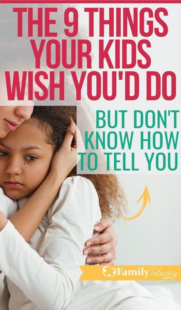 Photo of 9 Things Your Kid Really Needs From You But Doesn't Know How to Tell You – FamilyFelicity.com