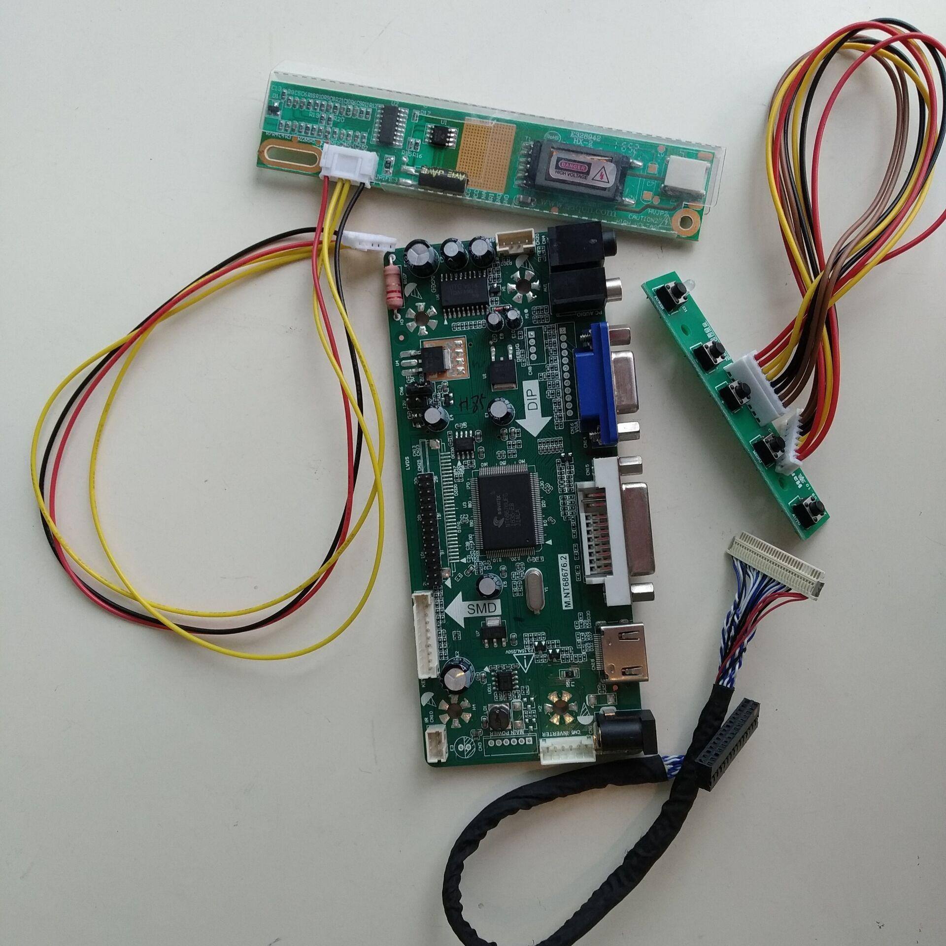 HDMI DVI VGA LCD Controller board Kit for 1680X1050 LTN154P3-L05 panel screen
