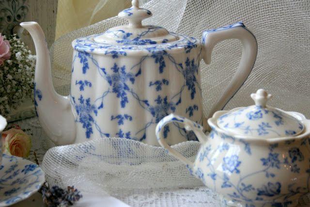 Aiken House & Gardens: More Teapots