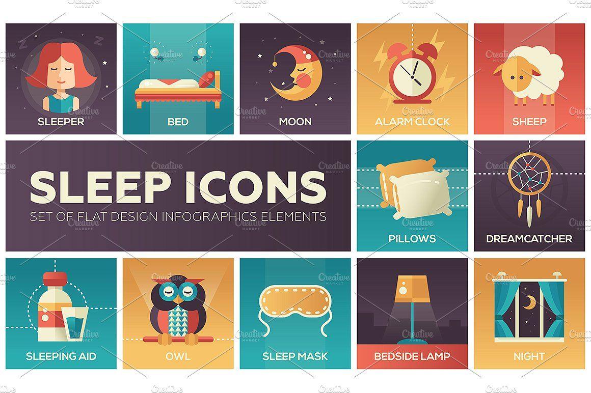 48 Psycho Icons Bundle Flat design icons, Custom icons