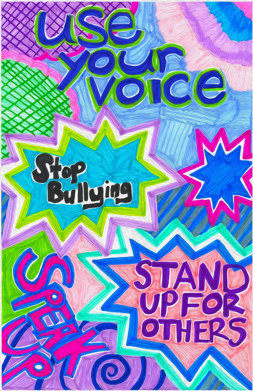 Easy Poster Ideas Bullying