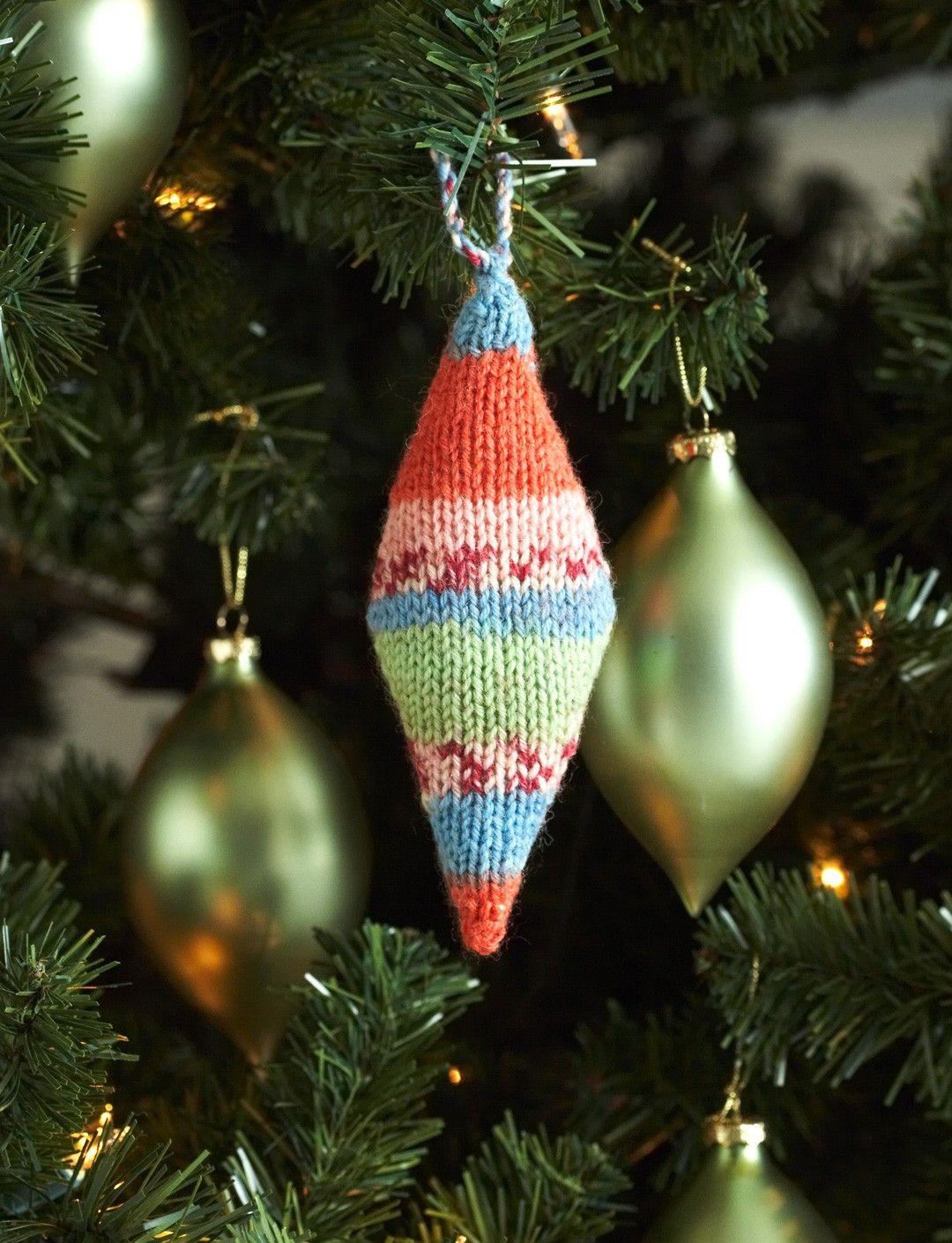 Yarnspirations.com - Patons Knit Christmas Ornaments - Patterns ...