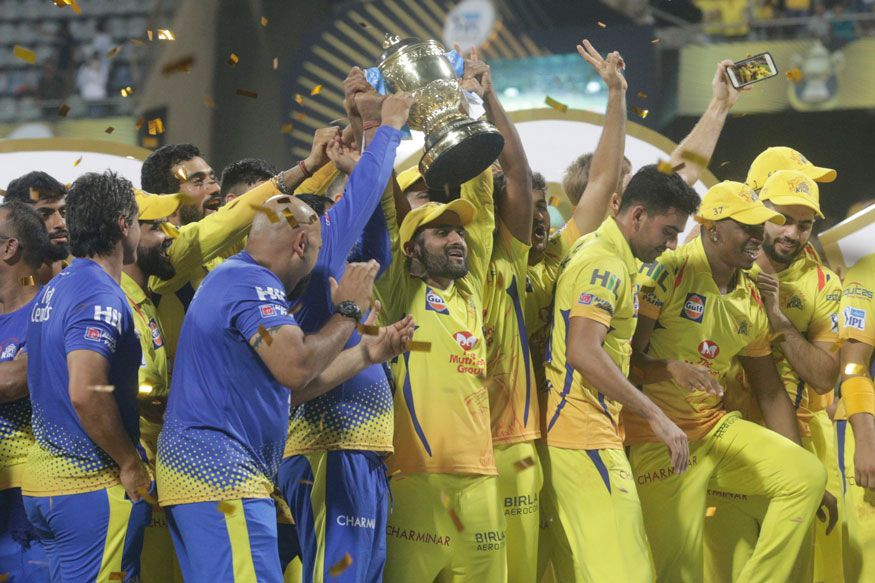 Chennai Super Kings Get Rapturous at Home After