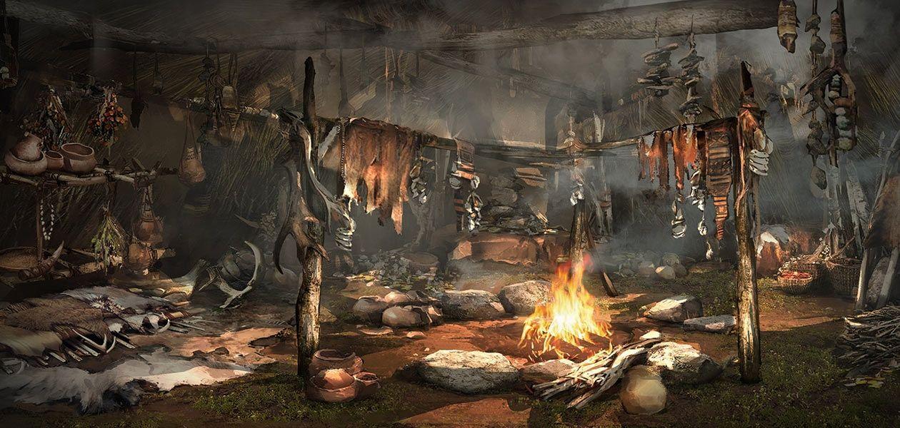 The Art of Far Cry Primal Obrazy, Ludzie
