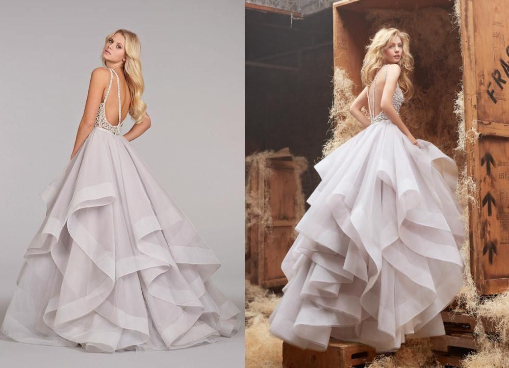 2014 Ball Gown Wedding Dresses Halter High Neck Beaded Crystal ...