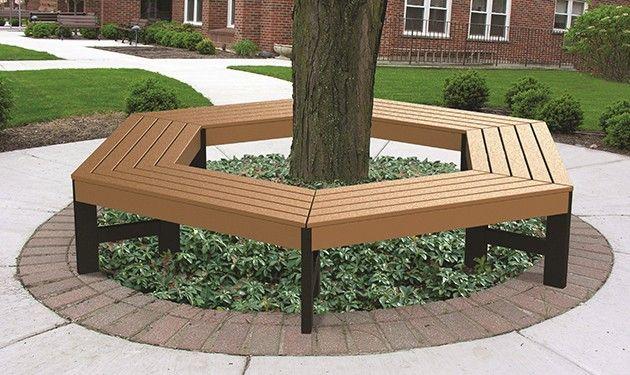Tree Hugger Benches Backyard Landscaping Designs Backyard