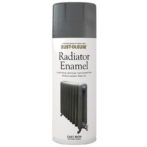 Rust Oleum Radiator Enamel Spray Paint Cast Iron Finish