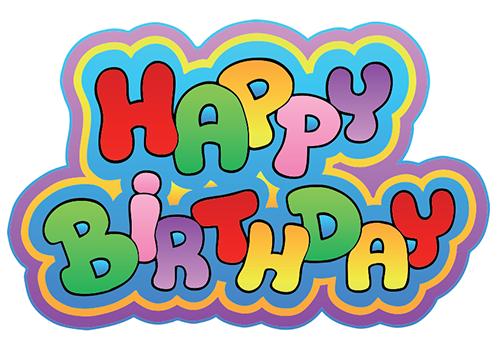 Birthday Emoticons Emoji Wall Signs Fun Colorful