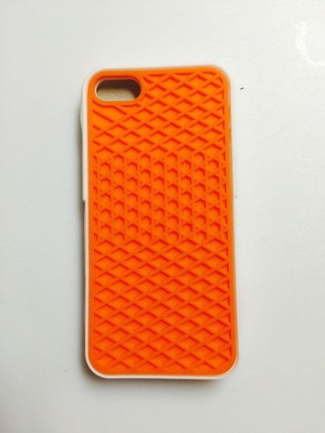 ec6ad1b17c8113 VANS Waffle Sole Case Bumper Orange and White for Apple iPhone 5 5S   UnbrandedGeneric