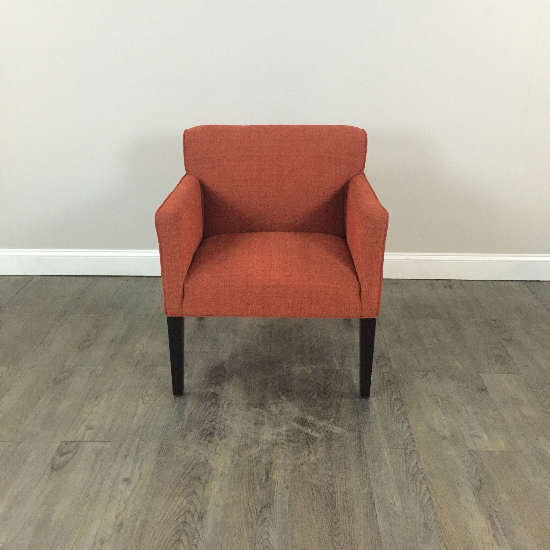 Burnt Orange Accent Chair   Chicago, IL Http://www.marketsquarehome.