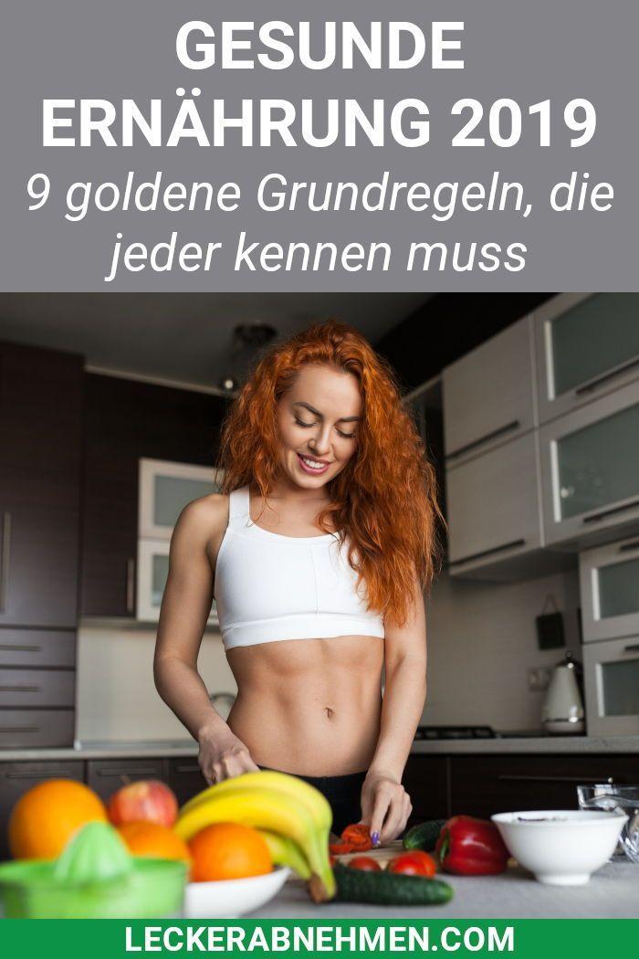 Photo of Gesunde Ernährung: 9 wichtige Grundregeln, die du kennen musst