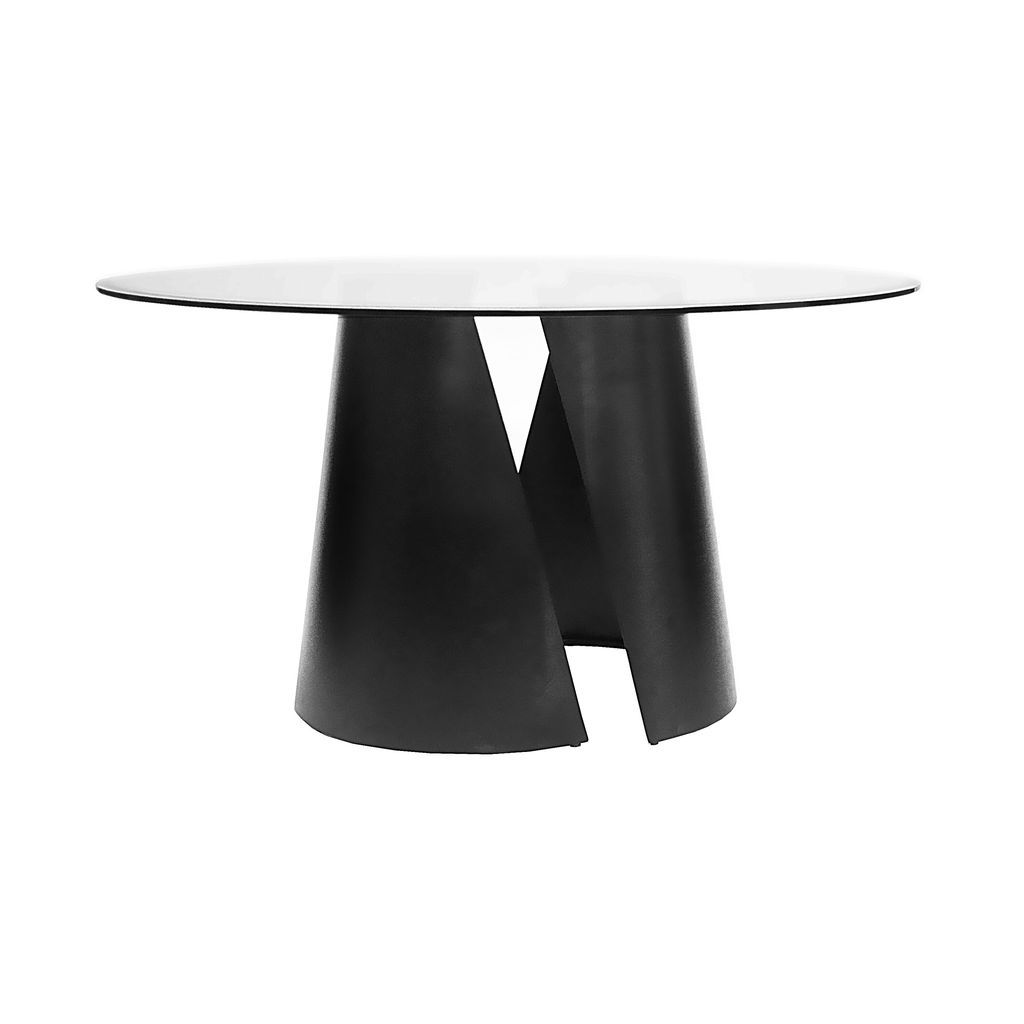 Worlds Away 54 Sculptural Dining Table Black Dining Table Bases Dining Table Dining Table Black [ 1024 x 1024 Pixel ]