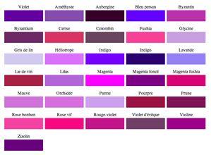 8 id es peinture pour une chambre avec du violet nuancier peinture tableaux de couleur et. Black Bedroom Furniture Sets. Home Design Ideas