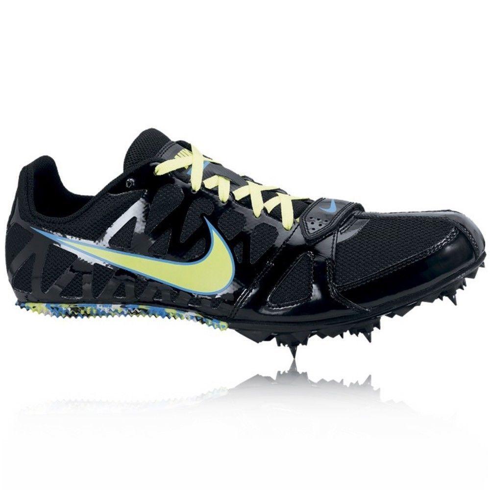 Mens Nike Zoom Rival Sprint 6 Running Spikes Black