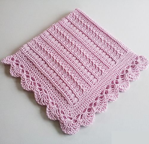 Mayflower Baby Blanket Free Crochet Pattern | Crafts | Pinterest ...