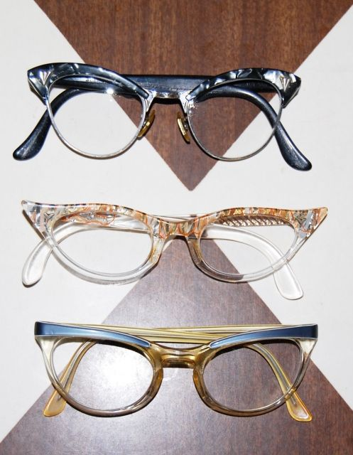 f79cc8d4f0c Vintage cat eyes. Love love love.
