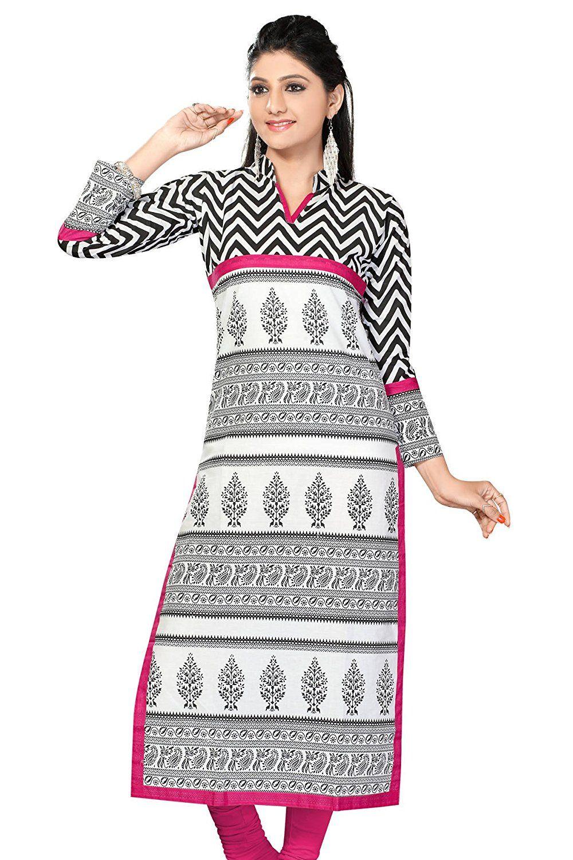 fb1d0bfef0e Stylish Cotton Kurti Designs 2018 – 19 for Girls