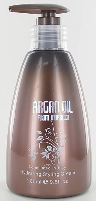 Amazon Com Nuspa Argan Oil From Morocco Hydrating Styling Cream 9 8oz Beauty Styling Cream Argan Oil Curly Hair Styles Naturally