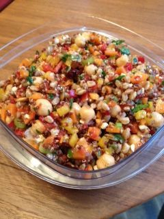 This is great salad! Chewy,Delicious & Incredibly healthy. I got this recipe from The Stop Cookbook it is a community food center located in Toronto. My mom and I have made a lot of adaptions to this recipe so I will post that recipe only because it is quite a...