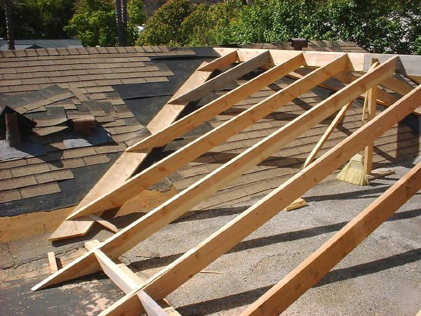 Our Room Addition Flat Roof Roof Framing Flat Roof Repair