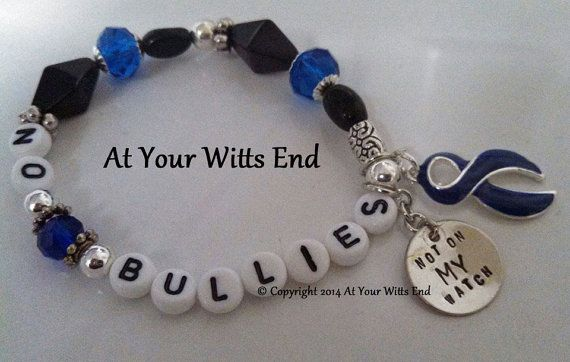 Handmade Anti Bullying Bracelets