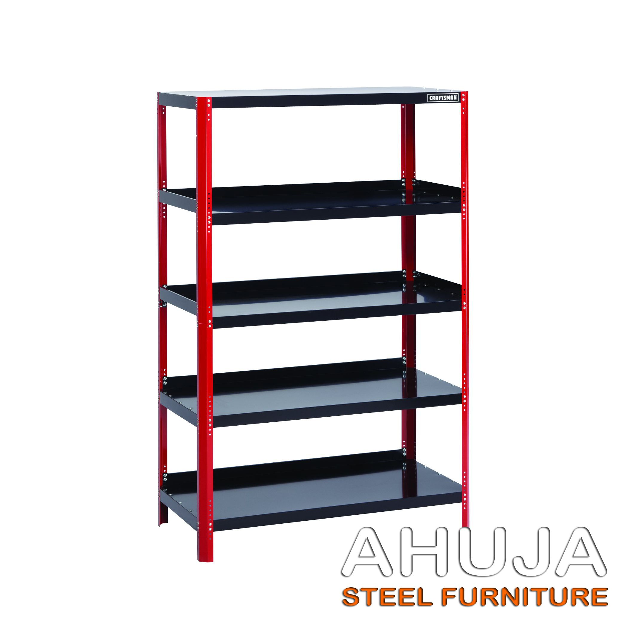 We Offer Slotted Angles Racks That Are Manufactured Using Quality Raw Material And Are Noted For Their Durabil Steel Shelving Unit Steel Shelving Shelving Unit
