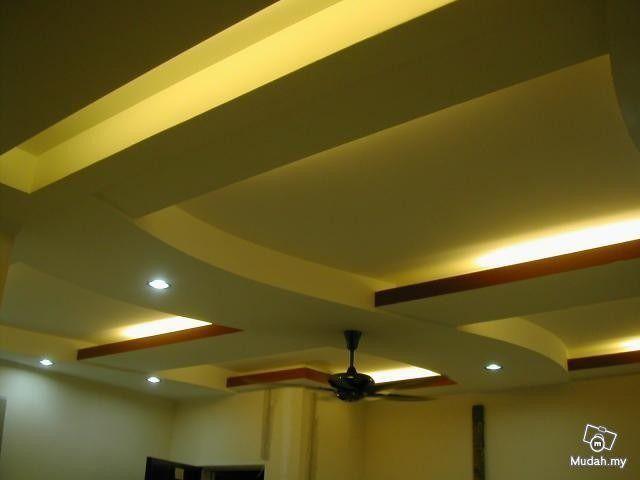 Gypsum cielo raso empaste pintura casas oficina iglesias s for Modelos de cielo raso para salas