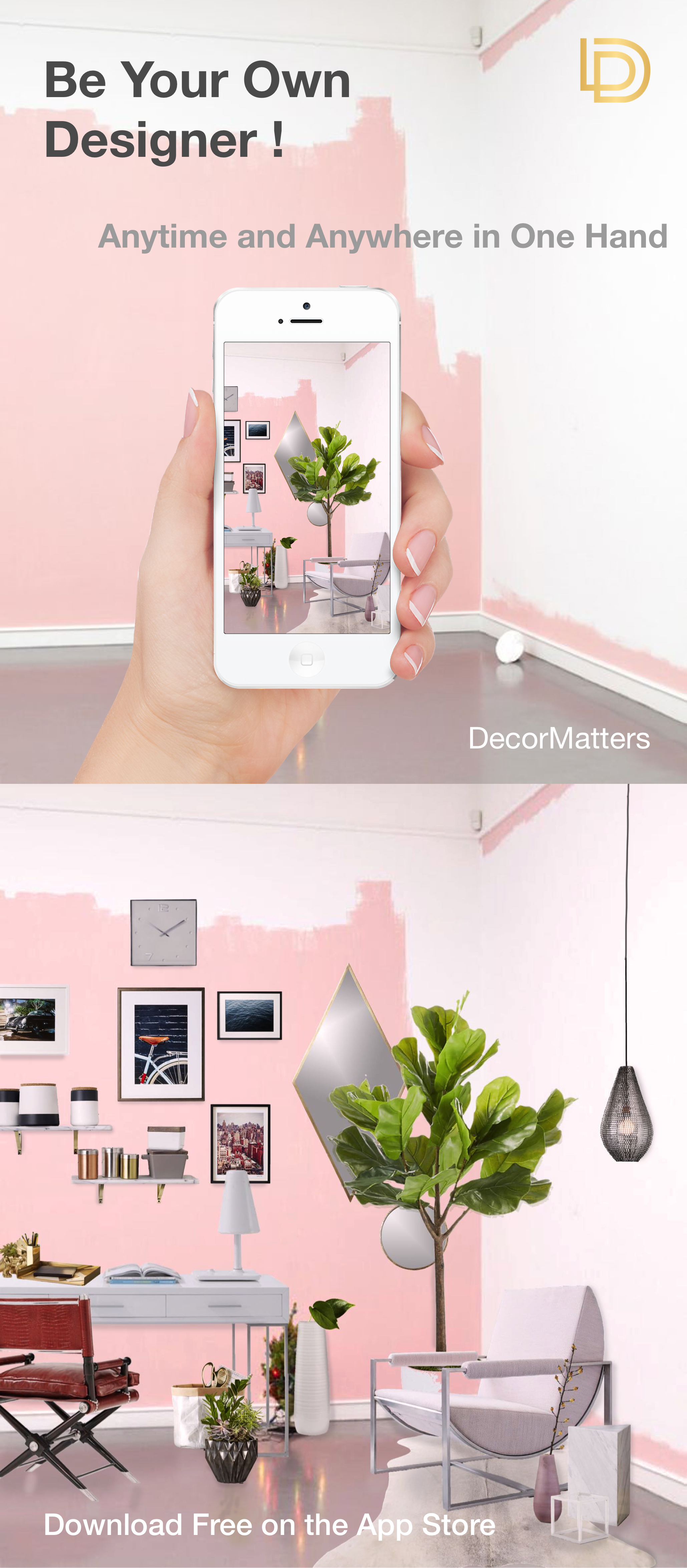 App To Design Your Room: Be Your Own Designer Anytime And Anywhere In One Hand